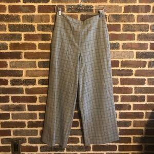 ASOS Grey Plaid Pants